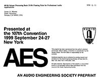 AES E-Library » 48-Bit Integer Processing Beats 32-Bit Floating