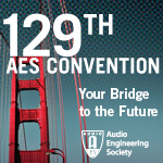 AES 129th Convention