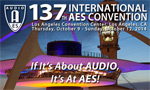 AES 137th Convention