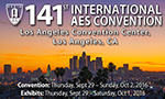 AES 141st Convention