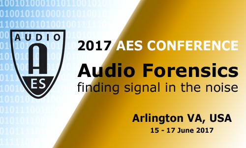 2017 International Conference on Audio Forensics