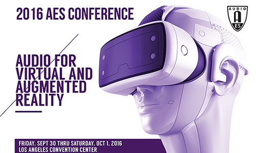 2016 International Conference on Audio for Virtual and Augmented Reality
