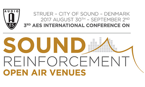 2017 International Conference on Sound Reinforcement – Open Air Venues