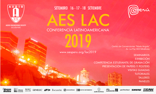 AES Latin American Conference 2019