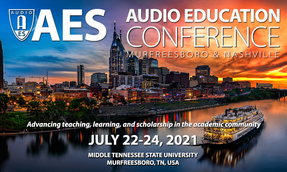 2020 AES AUDIO EDUCATION CONFERENCE