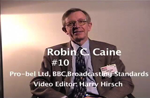 Oral History DVD: Robin C. Caine