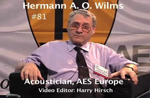 Oral History DVD: Hermann A.O. Wilms