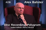 Oral History DVD: Alex Balster