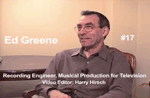 Oral History DVD: Ed Greene