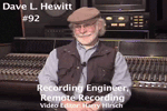Oral History DVD: David Hewitt