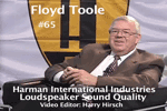 Oral History DVD: Dr. Floyd E. Toole
