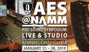 AES@NAMM Pro Sound Symposium Announces Innovative Education Program