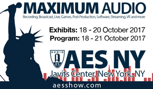 AES New York Convention Advance Registration Opens