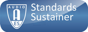 AES Standards Sustainer Program Launched