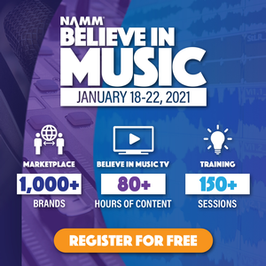 """AES to Host """"Believe in Music Week"""" Event Sessions, January 21 and 22"""