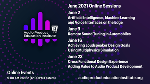 AES Audio Product Education Institute Promotes Weekly Online Events During the Month of June