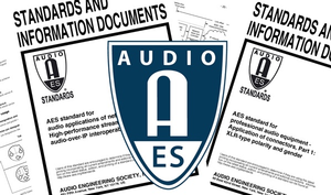Audio Standards and Interoperability in a Connected World Take the Stage in AES Standards Webinar Series