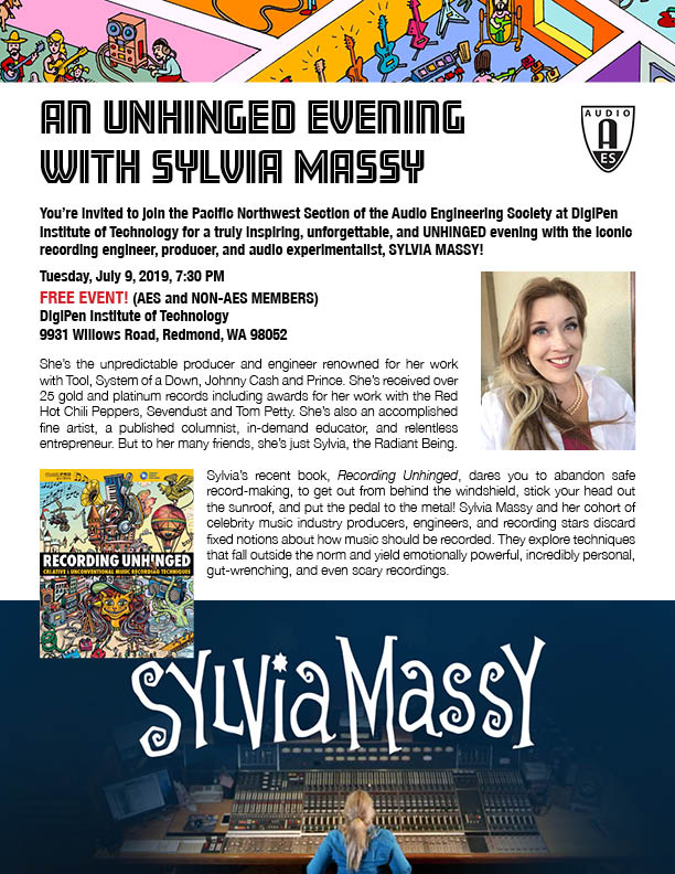 Unhinged Recording with Sylvia Massy